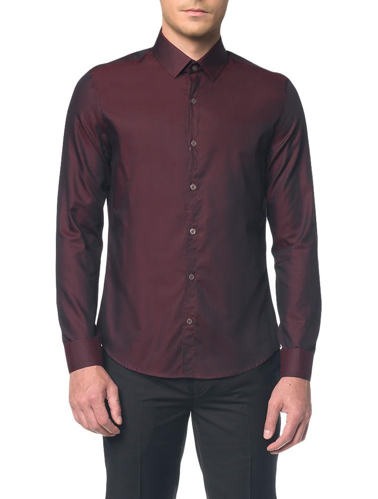 3f4edd2415 Camisa-Slim-Monte-Carlo-C-Vico-Natural---Bordo---2. Loading zoom