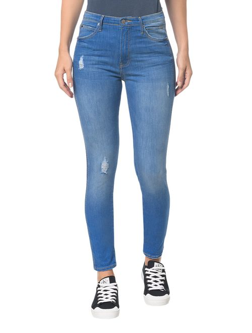 Calça Jeans Sculpted - Azul Royal