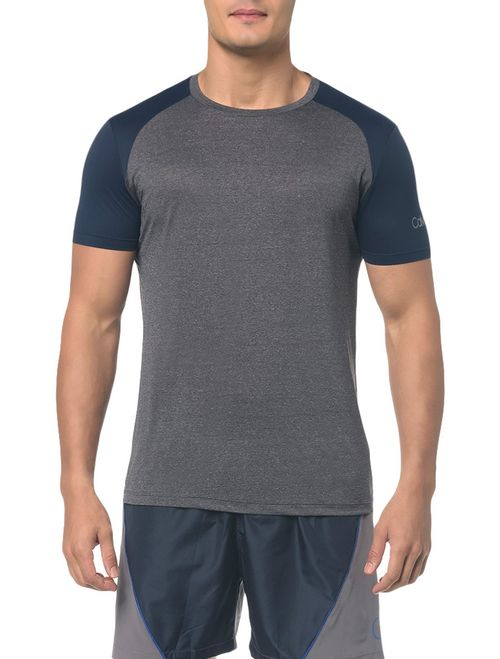 Camiseta Athletic Ck Raglan - Cinza Mescla
