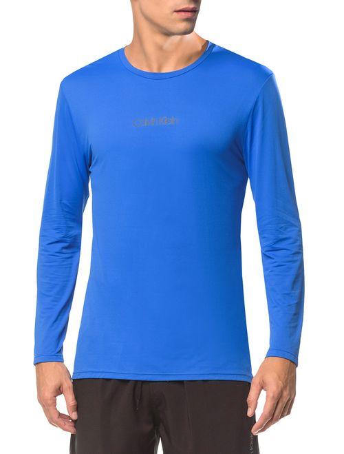 Camiseta Athletic Ck Logo Peito - Azul Médio