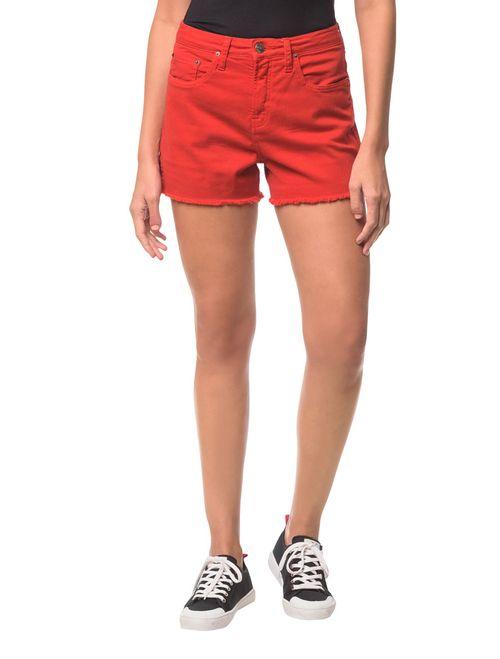 Shorts Color Five Pockets Vermelho