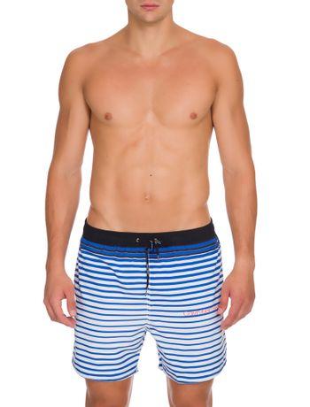 Shorts-Dagua-Ckj-Estampado---Azul---P
