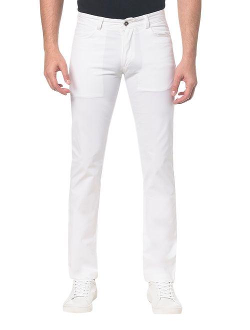 Calça Mas  Color 5 Pockets - Branco 2