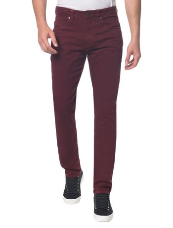 Calca-Color-Five-Pockets-Slim---Bordo---36