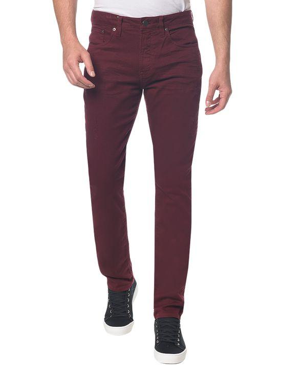 Calca-Color-Five-Pockets-Slim---Bordo---36
