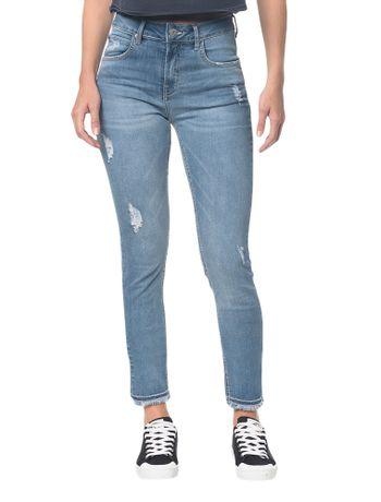 Calca-Jeans--Five-Pockets-Ckj-010-High-Rise-Skinny---Azul-Claro---34