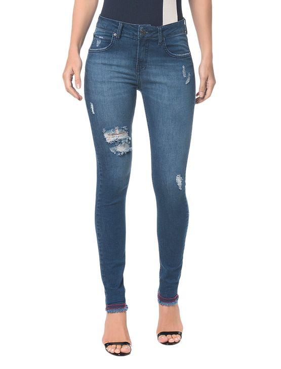 Calca-Jeans-Five-Pockets-Ckj-001-Super-Skinny---Marinho---34
