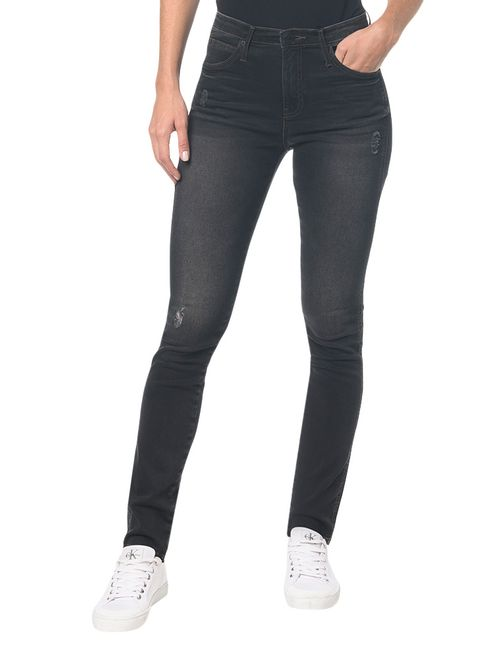 Calça  Jeans Ckj 002 Sculpted Skinny - Preto