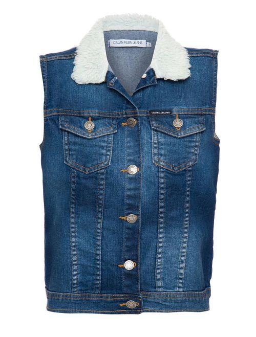 Colete Jeans - Azul Médio