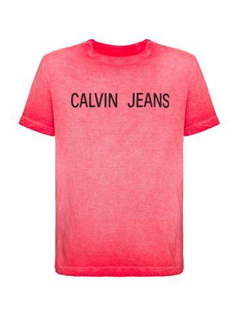 Camiseta-Ckj-Mc-Est-Calvin-Jeans-Peito---Vermelho---2