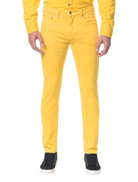 Calca-Color-Five-Pock-Slim---Amarelo-Ouro---40