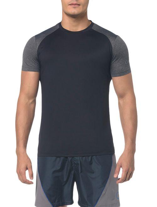 Camiseta Athletic Ck Raglan - Preto