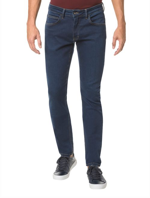 Calca Jeans Five Pockets Super Skinny - Marinho