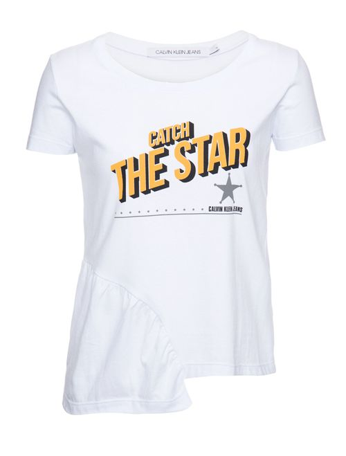 Blusa M/C Ckj Catch The Star - Branco 2