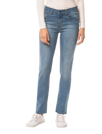Calca-Jeans-Five-Pockets-Ckj-021-Mid-Rise-Slim---Azul-Medio---34