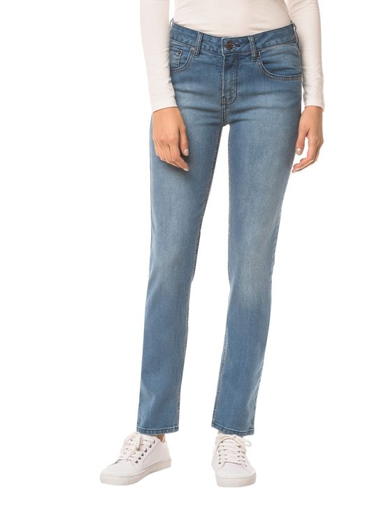 Calca-Jeans-Five-Pockets-Ckj-021-Mid-Rise-Slim---Azul-Medio---42
