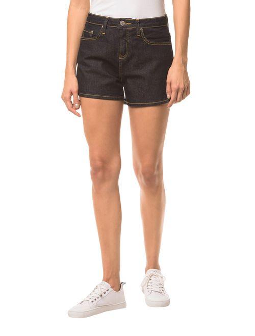 Shorts Jeans Pockets - Marinho
