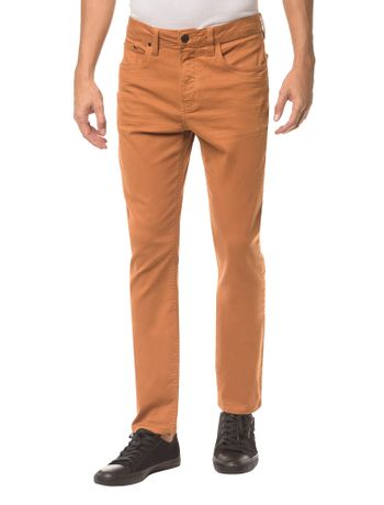 Calca-Color-Five-Pockets-Slim---Havana---36