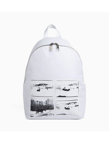 Mochila-Ckj-Horse-Andy-Warhol-Landscape---Branca---U