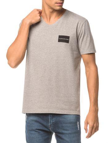 Camiseta-Ckj-Mc-Estampa-Quadrado-Peito---Mescla---PP