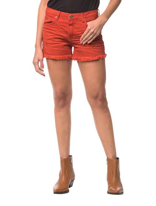Shorts Color Five Pockets - Vermelho
