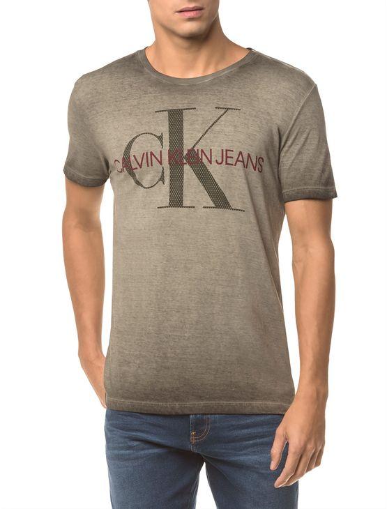 Camiseta-Ckj-Mc-Estampa-Ck-Peito---Oliva---M