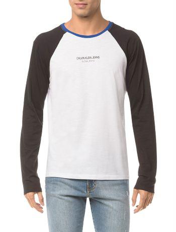 896e2a99d Masculino - Roupas - Camisetas Manga Longa – Calvin Klein