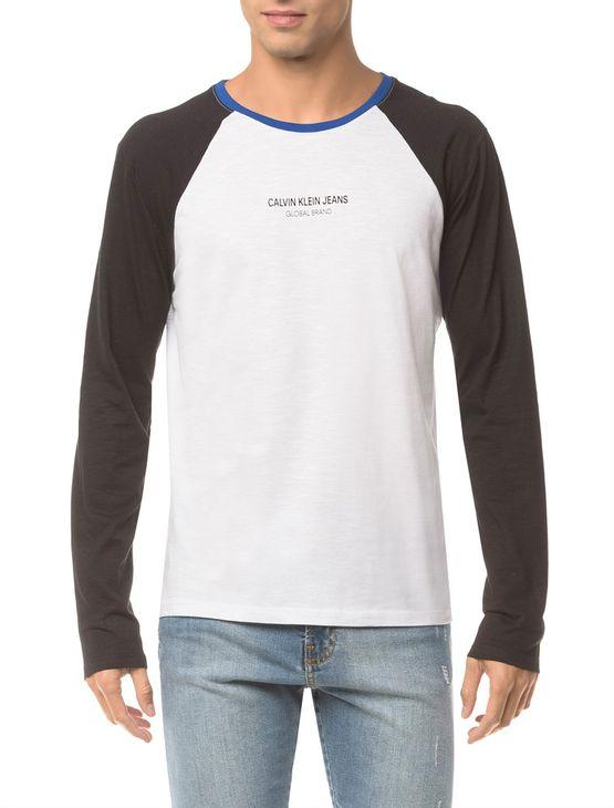 Camiseta-Ckj-Ml-Estampa-Logo-Peito---Branco-2---PP