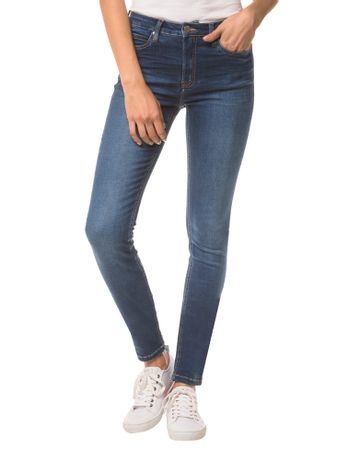 Calca-Jeans-Five-Pockets-Ckj-001-Super-Skinny---Azul-Medio---36