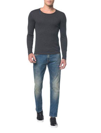 Calca-Jeans-Five-Pockets-Ckj-025-Slim-Straight---Azul-Medio---36