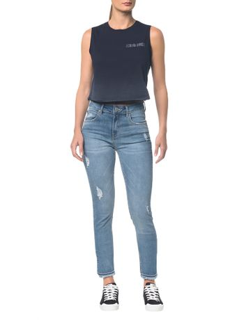 Calca-Jeans--Five-Pockets-Ckj-010-High-Rise-Skinny---Azul-Claro---34