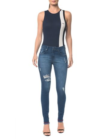 Calca-Jeans-Five-Pockets-Ckj-001-Super-Skinny---Marinho---34