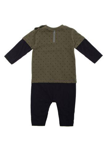 Macacao-Ckj-Baby-Mini-Print-Ck-3---Verde-Militar---12M