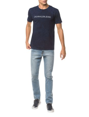 Camiseta-Ckj-Mc-Indigo-Est---Indigo---M