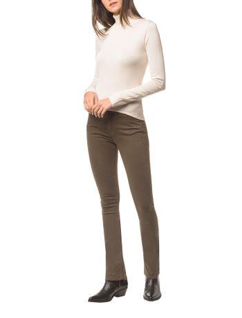 Calca-Jeans-Five-Pock-Kick-Flare---Oliva---40