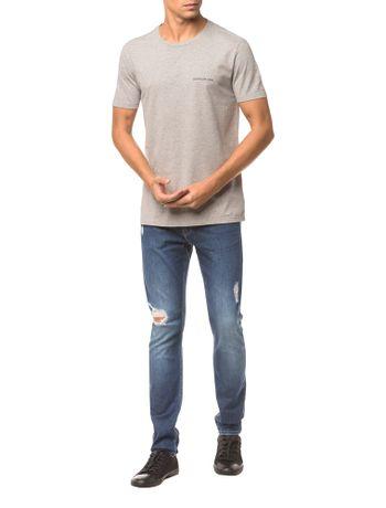 Camiseta-Ckj-Mc-Logo-Peito---Mescla---GG