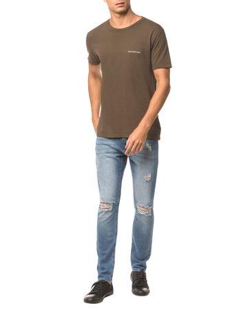 Camiseta-Ckj-Mc-Logo-Peito---Oliva---M