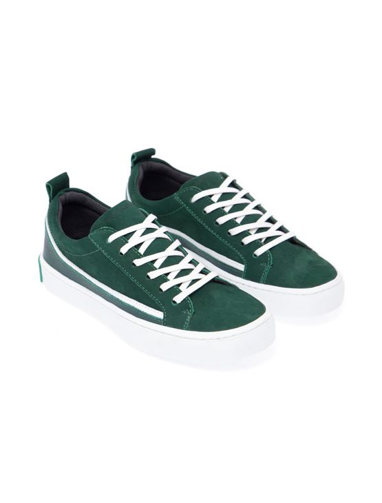 Tenis-Ckjb-Masc-Junior-Couro-Low-Skate---Verde-