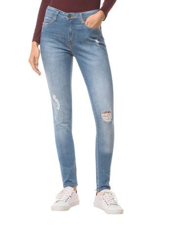 Calca-Jeans-Five-Pockets-Ckj-001-Super-Skinny---Azul-Claro-