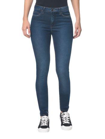 Calca-Jeans-Five-Pock-Ckj-001-Super-Skinny---Azul-Medio-