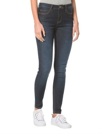 Calca-Jeans-Five-Pockets-Ckj-001-Super-Skinny--Marinho-