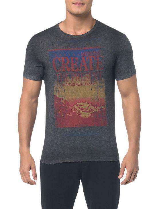 Camiseta-Ckj-Mc-Estampa-Create---Preto-