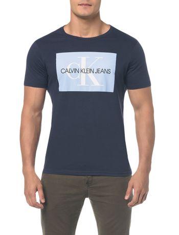 Camiseta-Ckj-Mc-Es-Ck-Quadrado---Marinho-