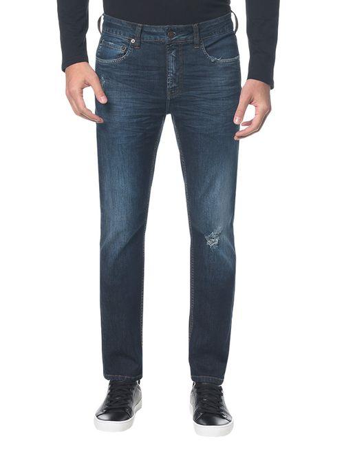 Calça Jeans Five Pockets Ckj 026 Slim - Marinho