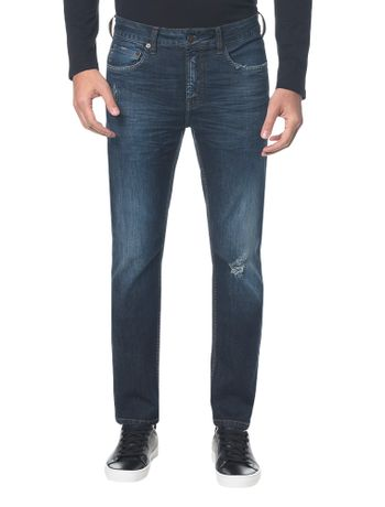 Calca-Jeans-Five-Pockets-Ckj-026-Slim---Marinho-