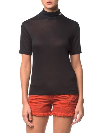 Blusa-Ckj-Fem-Mc-Gola-Alta-Visco-Silk---Preto-