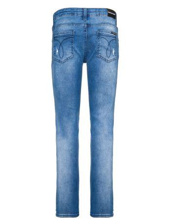 a2f632abd Calca-Jeans-Five-Pockets-Skinny---Azul-Medio-. Dia das Crianças 2. Tudo de Calvin  Klein