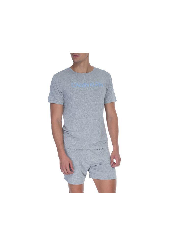 81835316bde85b Pijama M/C E Bermuda De Visco - Mescla
