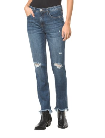 Calca-Jeans-Five-Pockets-Ckj-031-Mid-Rise-Straight---Marinho