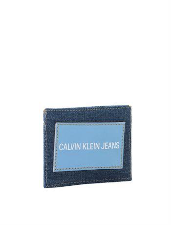 Carteira-Porta-Cartao-Ckj-Masc-Jeans---Azul-Royal